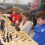Die Favoriten in der U8: Maximilian Lohr, Maria Schilay und Vanessa Wiemann