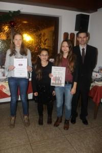 Mannschaft des Jahres 2015: U14 Mädchen - 5.Platz DVM 2014